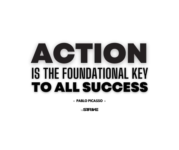 Action Oriented Quote