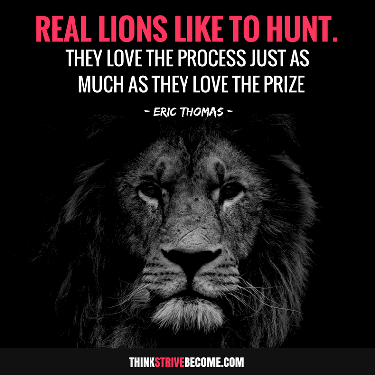Lion Motivation