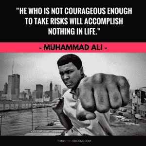 Ali Quote on Courage