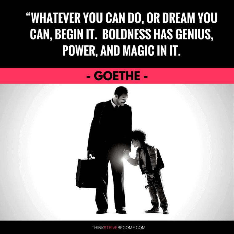 Goethe Courage Quote