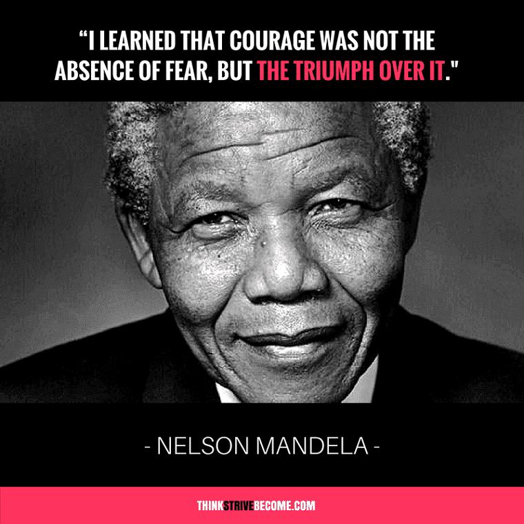 Mandela Quotes on Courage
