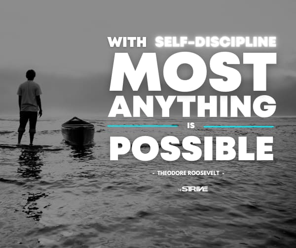 Discipline Quotes - Most Anything Possible by Roosevelt