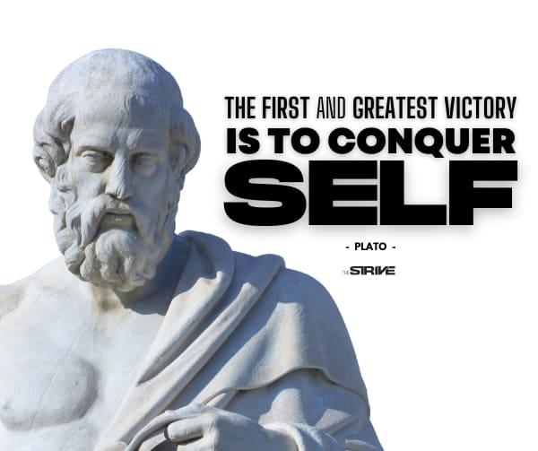 Self-Discipline Quote by Plato