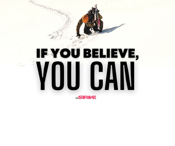 If You Believe You Can Quote