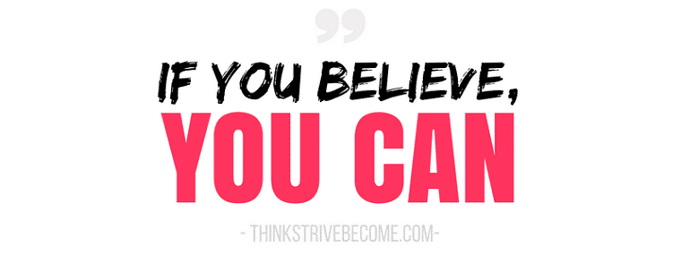 how to believe in your success