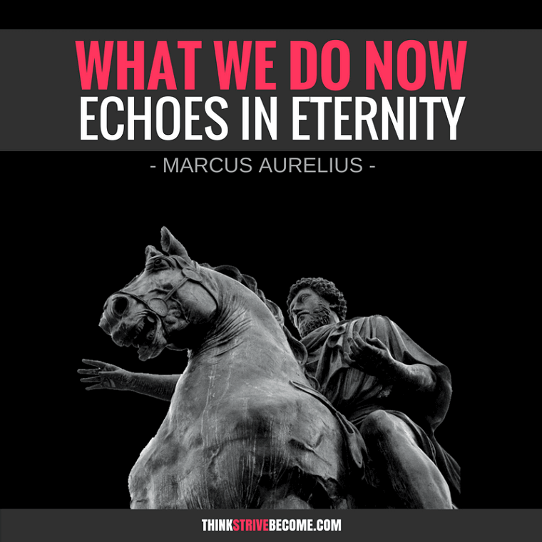 Marcus Aurelius Eternity Quote