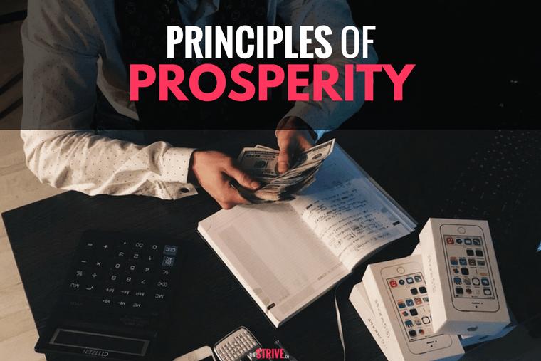 Principles of Prosperity
