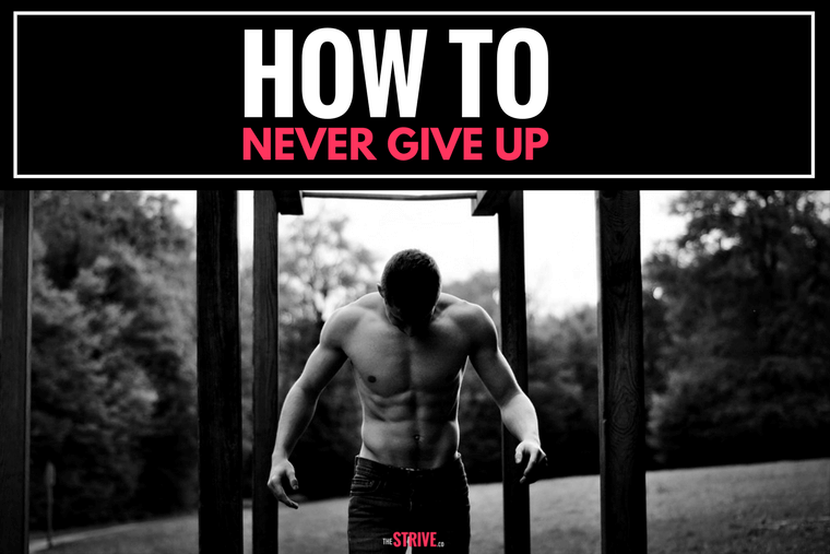 How to Never Give Up Motivation Journal