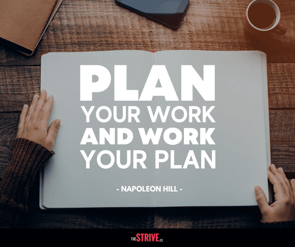 Plan Your Work Quote