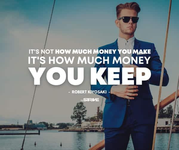Kiyosaki Millionaire Quote
