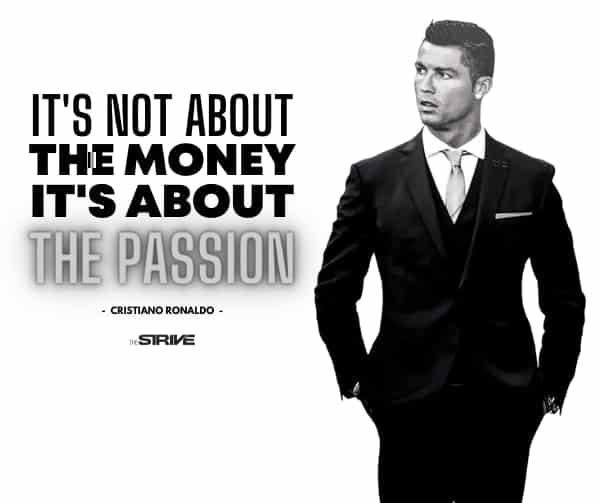 Ronaldo Self-Made Millionaire Quote