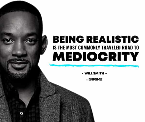 Will Smith Self-Made Millionaire Quote