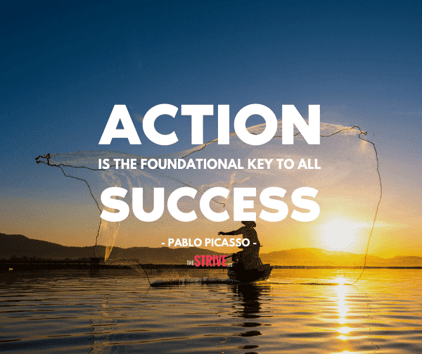 Action and Success Quotes