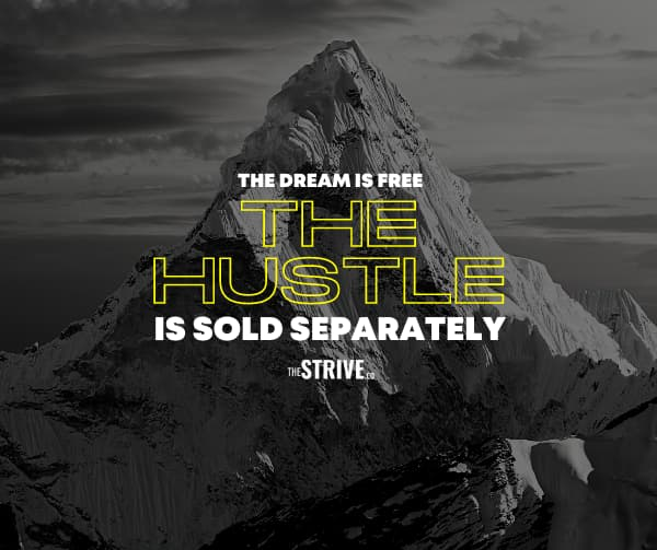 Hustle is Sold Separately