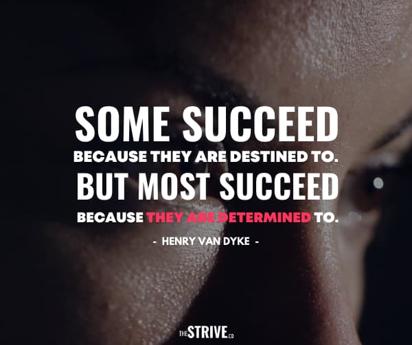 Hustle and Determination Quote