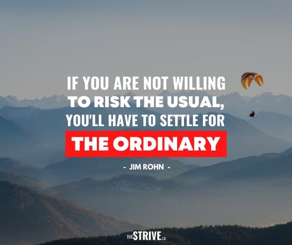 Jim Rohn Hustle Quote