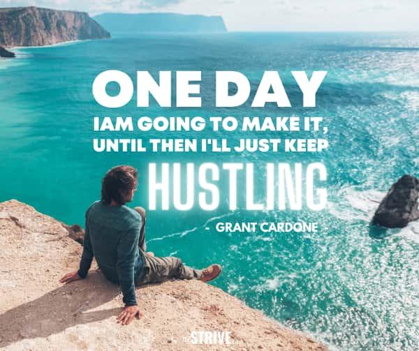 Grant Cardone Hustle Quote