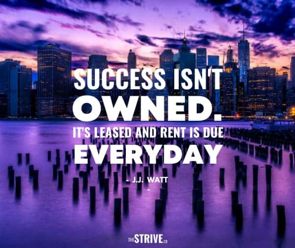 Rent is Due Everyday Quote