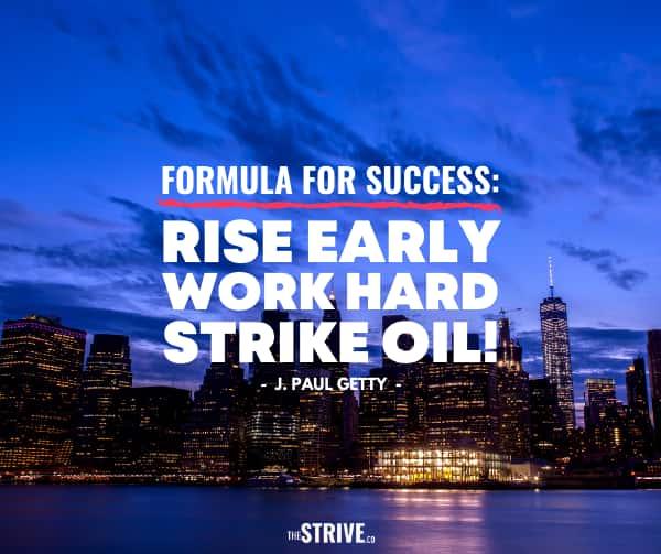 Formula For Success Quote