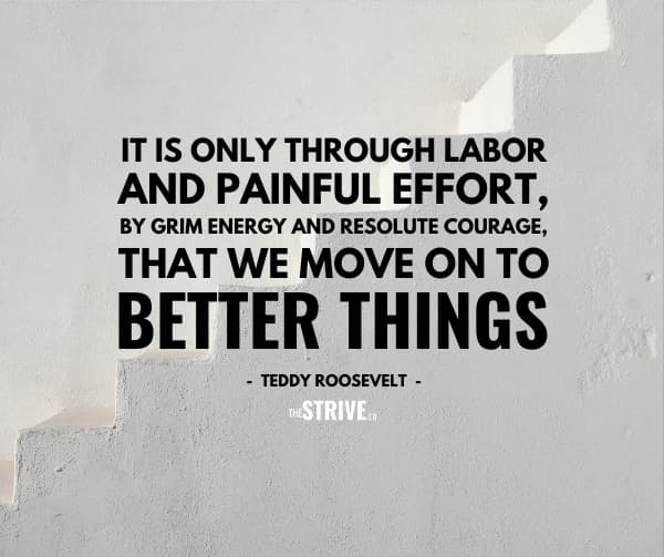 Labor Effort and Hustle Quote