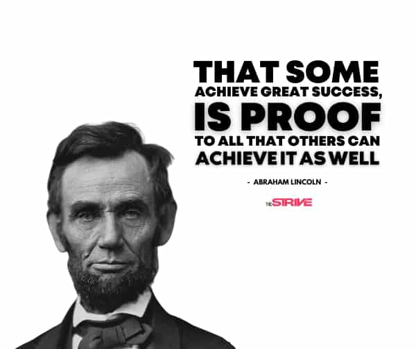 Abraham Lincoln Quote on Success