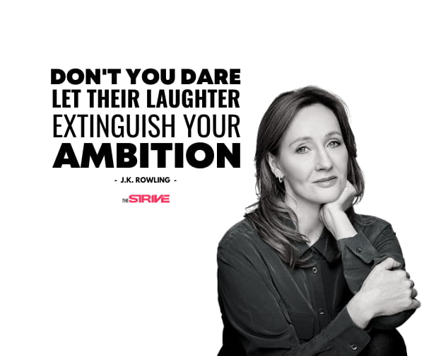 J.K. Rowling Success Story quote