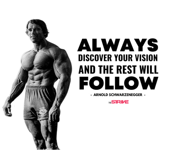 Success Stories Arnold Quote