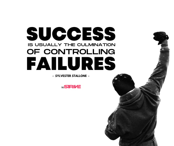 Sylvester Stallone Success Story Quote