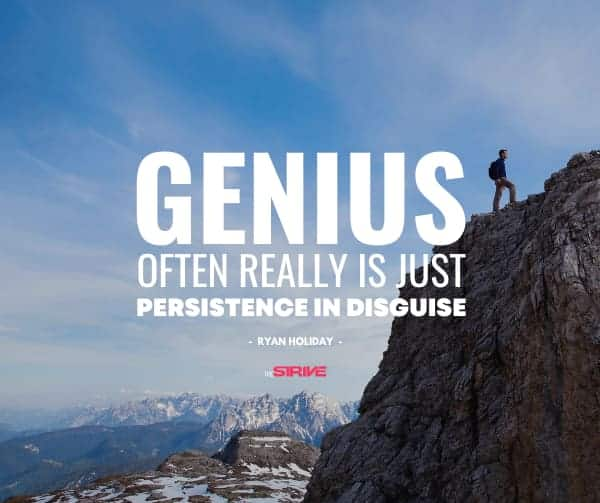 Obstacle Is The Way Quote on Persistence