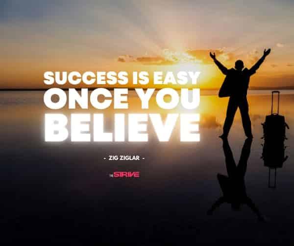 Success is Easy Quote By Zig Ziglar