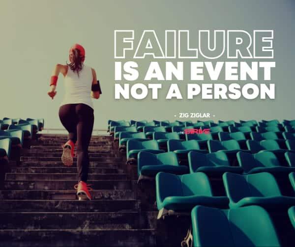 Zig Ziglar Quote on Failure
