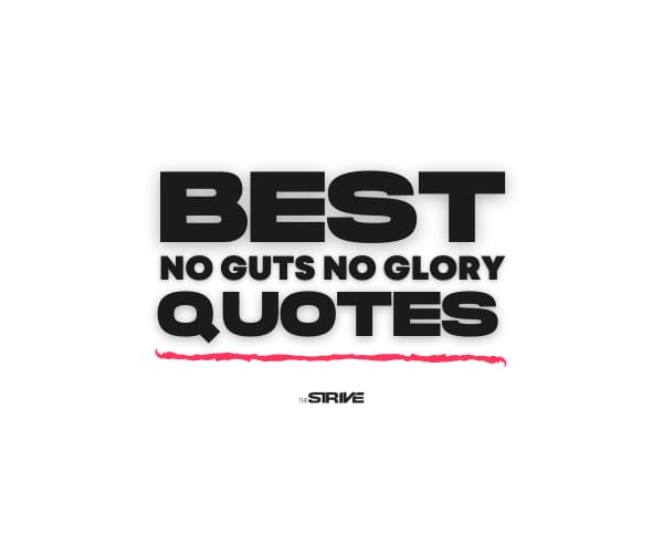 Best No Guts No Glory Quotes