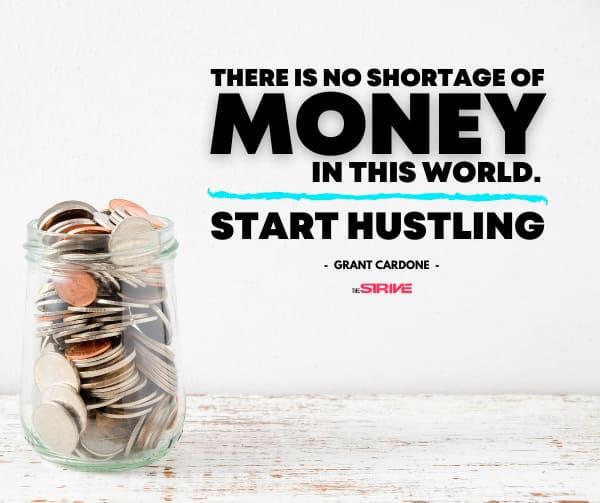 Grant Cardone Quote on Money