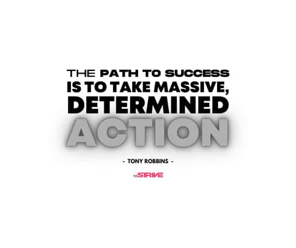 The Path to Success Quote