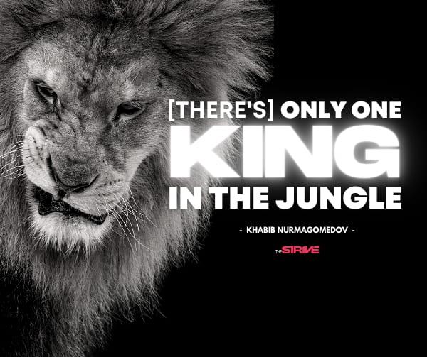 Khabib Nurmagomedov GOAT quote
