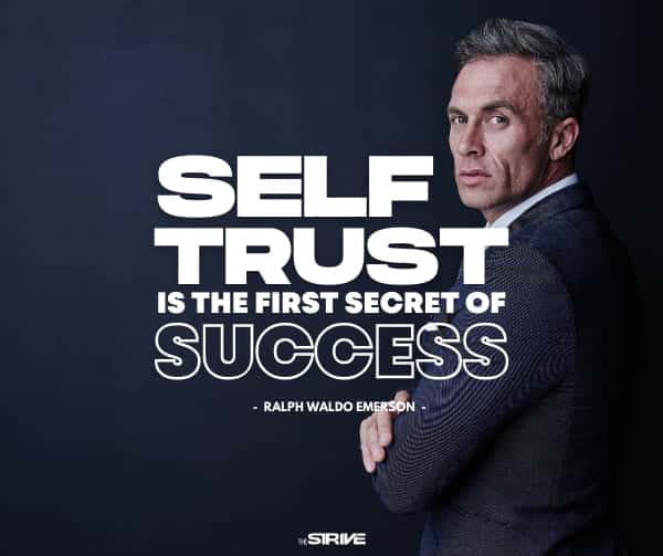 Success Quote about Trusting Yourself