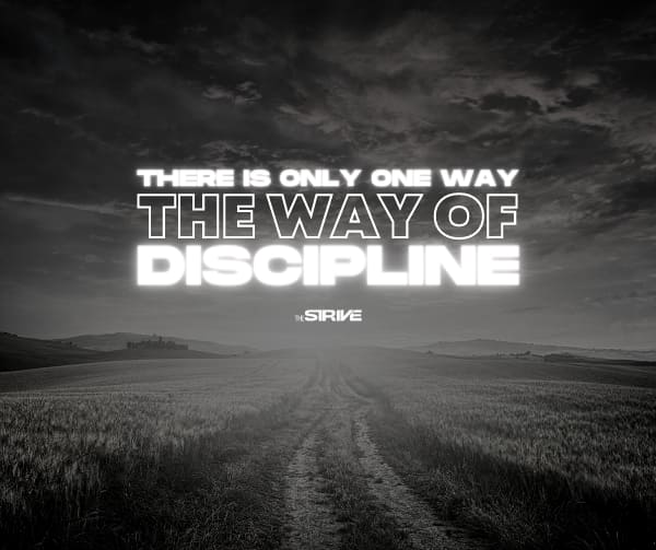 The Way of Discipline Affirmation