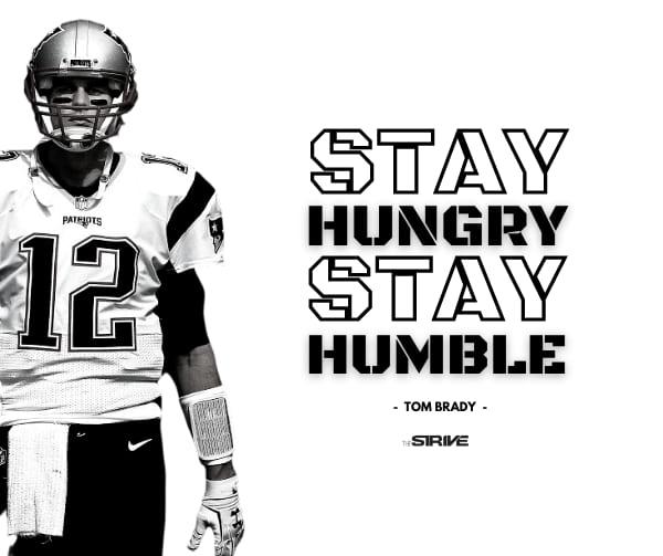 Tom Brady Success Quote