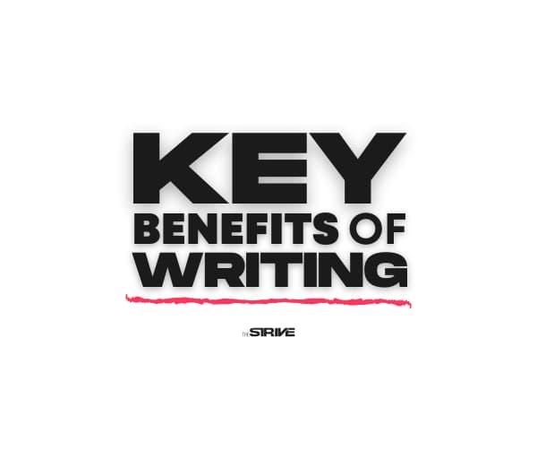 Benefits of Writing