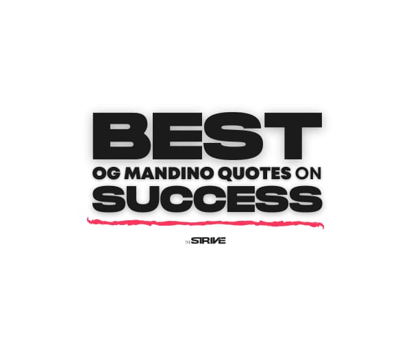 Best Og Mandino Quotes on Success