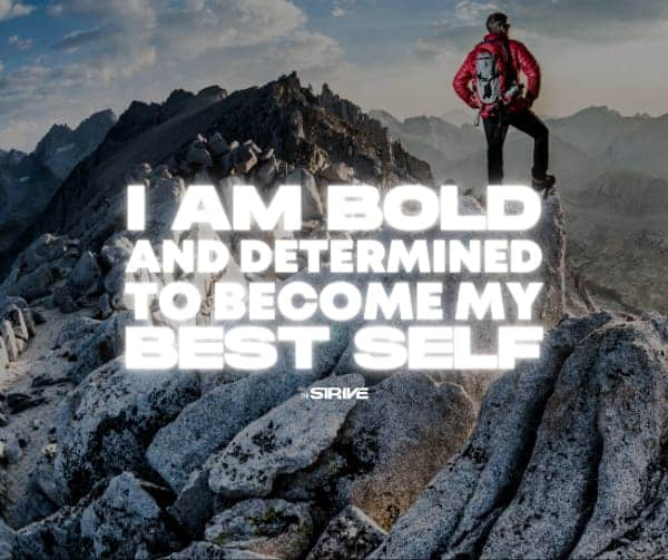 Confidence Affirmation Bold and Determined