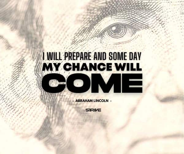 Abraham Lincoln Quote on Opportunity