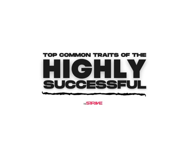 Common Traits of Highly Successful People