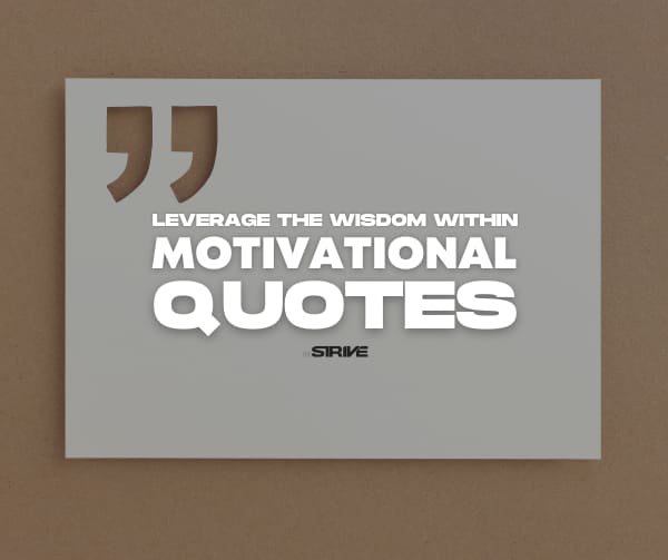 Get Motivated With Quotes