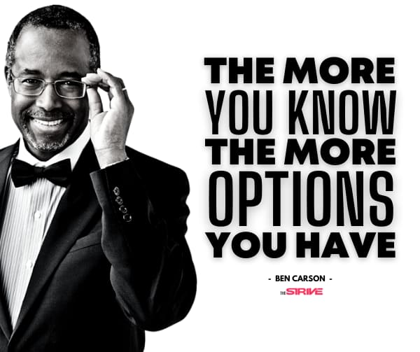 Ben Carson Quotes - The More You Know