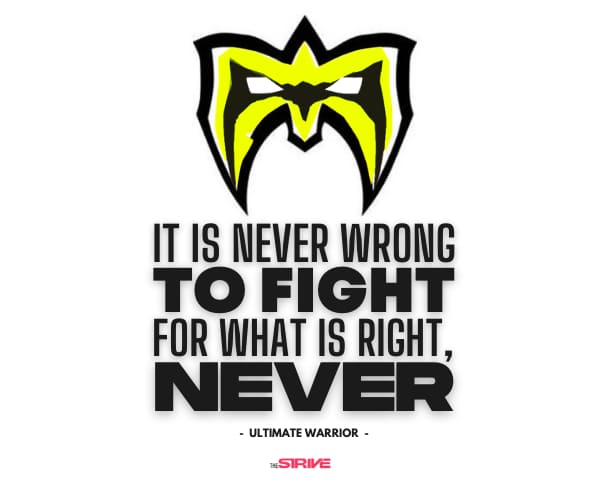 Fight For What is Right Quote