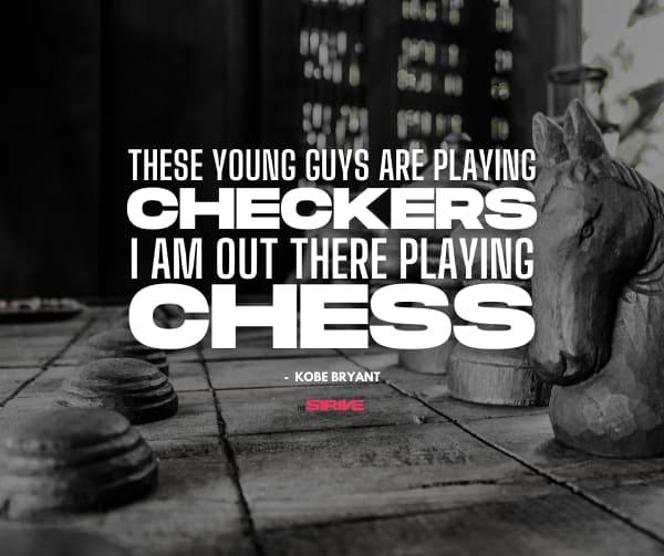 Inspirational Kobe Quote on Chess