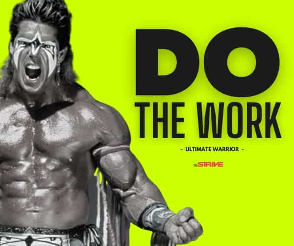 Do The Work Quote
