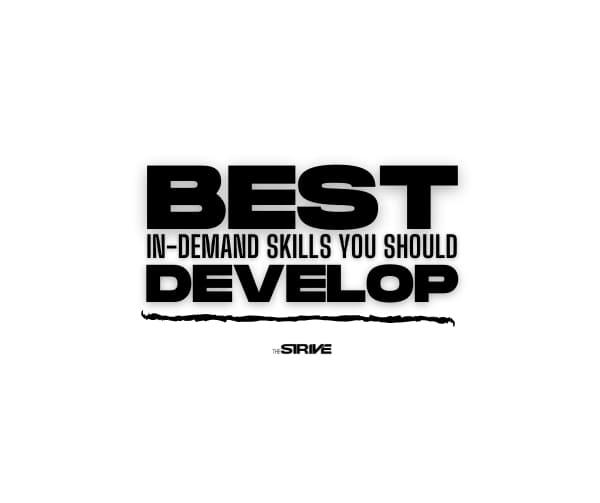 Best In Demand Skills to Develop