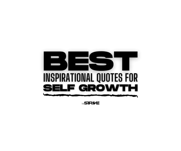 Best Self Growth Quotes